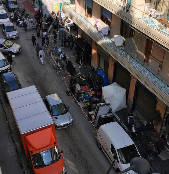 Gomorra sbarca al Vomero: il dispositivo di traffico per le riprese