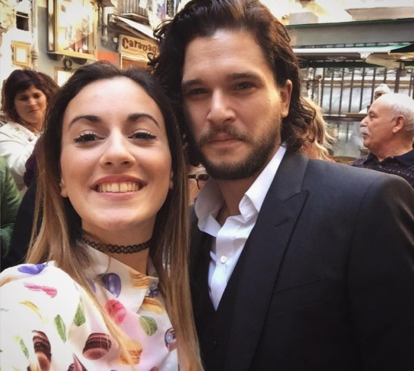 Game of Thrones: Kit Harington (Jon Snow) è in Italia