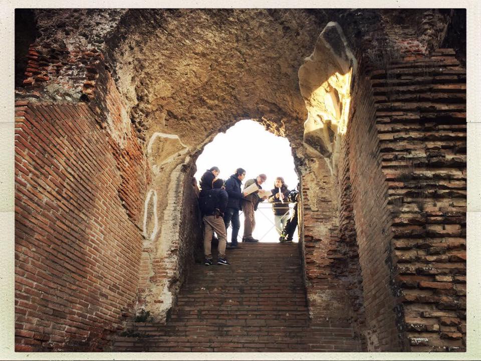 Ulisse alberto angela fra gli scavi di santa maria for Quando si festeggia santa ilaria