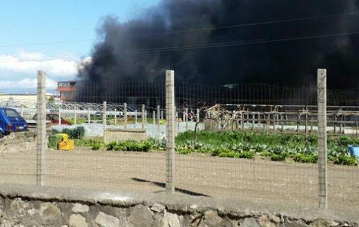 Incendio Castellammare