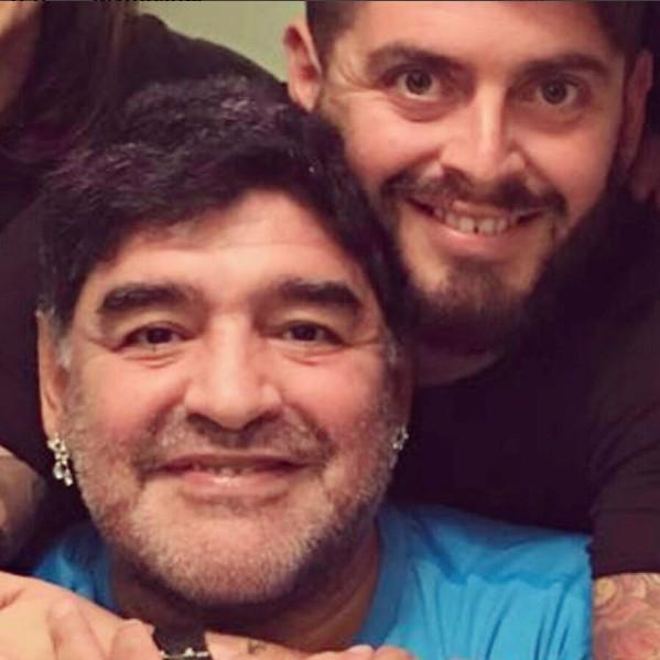Maradona e Diego Jr