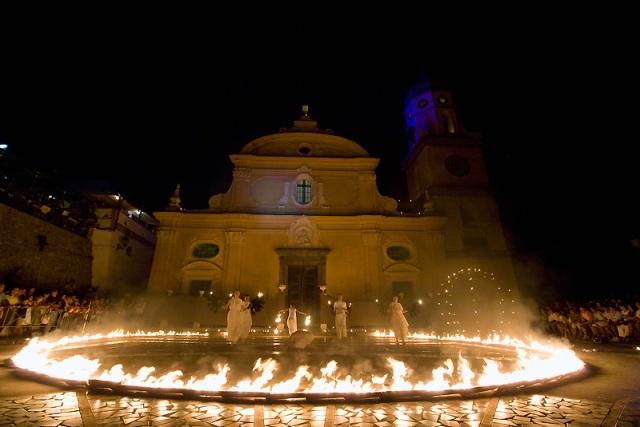 Praiano - Luminaria di San Domenico