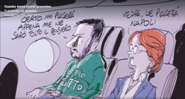 Salvini ha sfidato De Magistris: