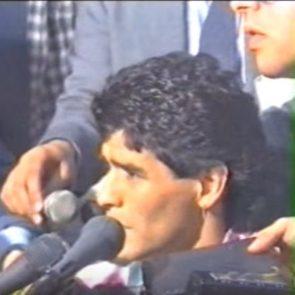 Intervista Maradona