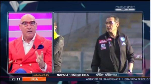 Napoli, Graziani bacchetta Sarri