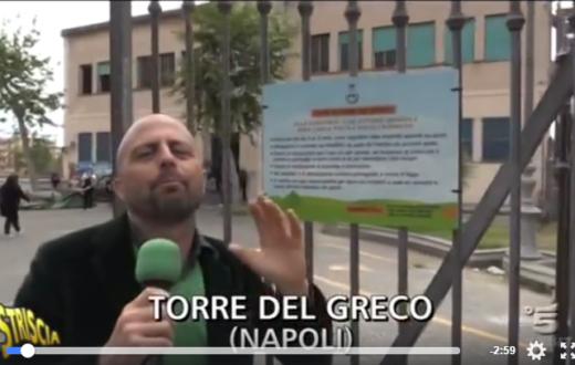 Luca Abete a Torre del Greco