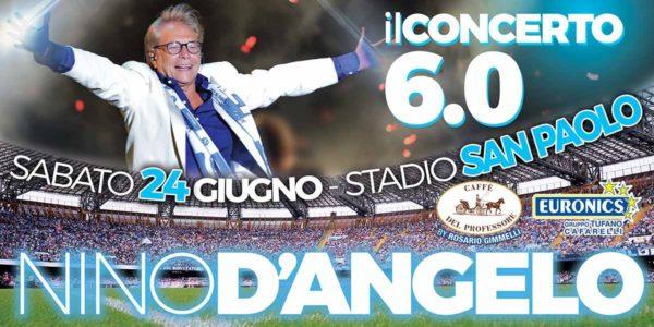 Nino D'Angelo, concerto 6.0 per i 60 anni: ecco gli ospiti