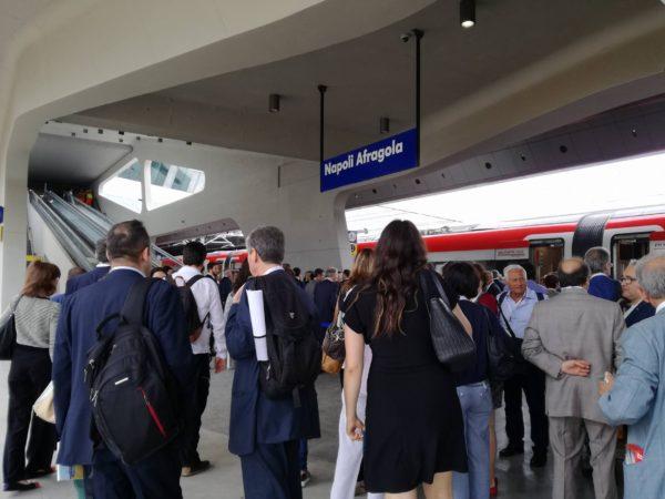 Al via nuova stazione Napoli Afragola