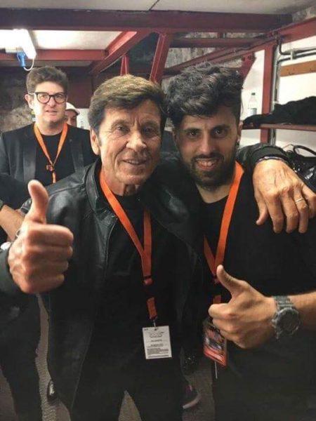 Felice Brandi e Gianni Morandi