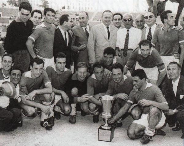 Napoli vince Coppa Italia '62