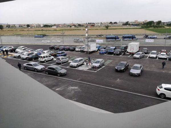 Tav Afragola, controlli nel parcheggio della stazione progettata da Zaha Hadid