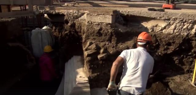 Tomba Scavi Pompei - Petrolio