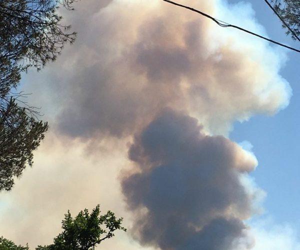 Boscoreale- Incendi Vesuvio: nessun pericolo al momento