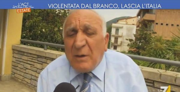 Stupro Pimonte, sindaco choc: