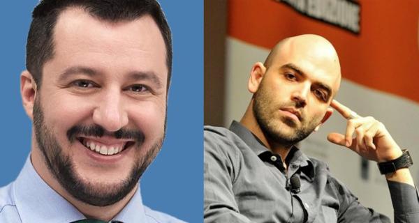 Saviano contro Salvini: