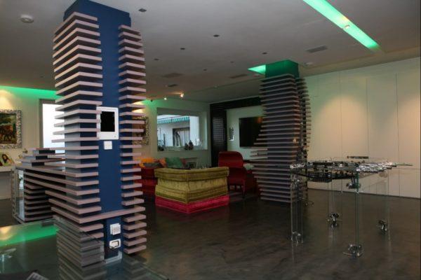 Contemporaneo la casa pi spettacolare di napoli il for Casa moderna tecnologica