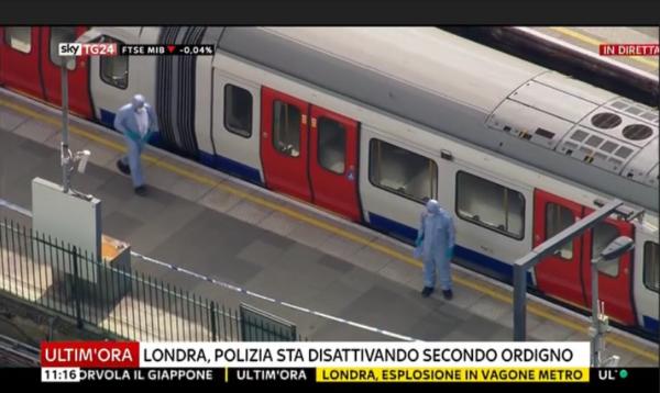 Esplosione a Londra, 18 ferti. Polizia conferma: è terrorismo