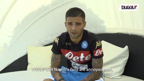 Juve, senti Insigne: 'Il mio idolo è Del Piero, ma a Napoli...'