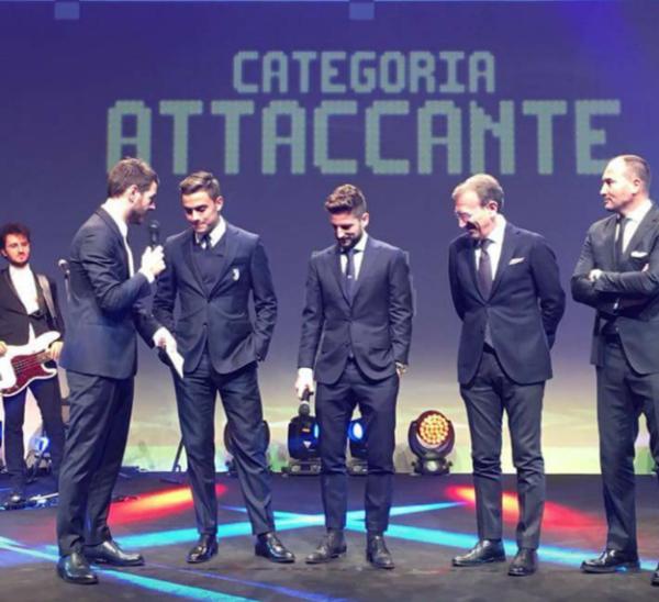 Buffon miglior giocatore della Serie A 2016-2017, Sarri miglior allenatore
