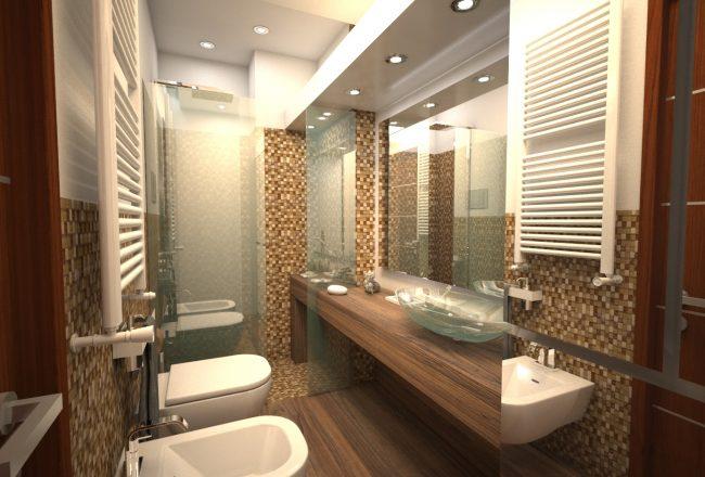 Da semplice bagno a zona di comfort e relax un bagno di - Vasche da bagno di lusso ...