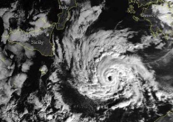 Numa II: è il nome dell'uragano mediterraneo in arrivo