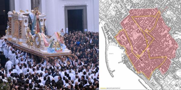 Rissa tra il parroco ei portatori della Madonna