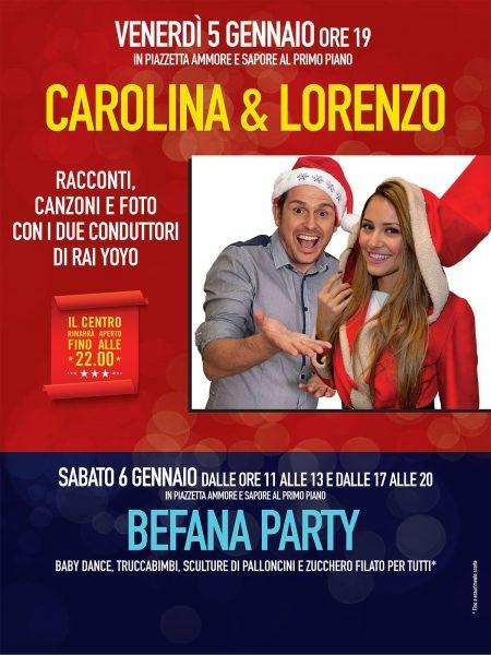 Carolina e Lorenzo Auchan