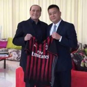 Milan Silvio Berlusconi Yonghong-Li