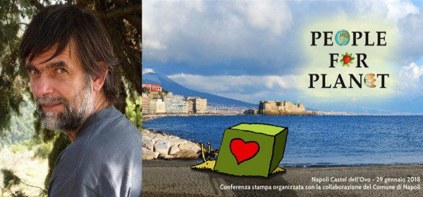 Jacopo Fo a Napoli per People For Planet