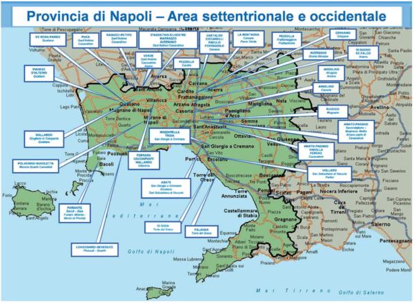 Mappa Napoli Puglia.Mappa Della Camorra Chi Comanda In Provincia Di Napoli Citta Per Citta
