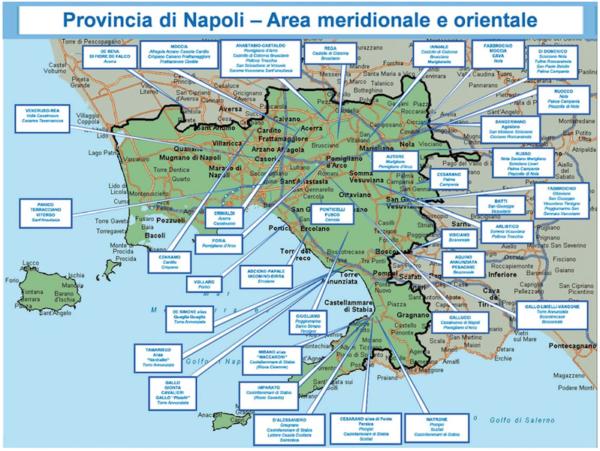 Cartina Lazio E Campania.Mappa Della Camorra Chi Comanda In Provincia Di Napoli