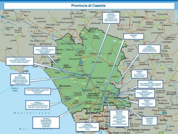 Mappa della camorra chi comanda a caserta e provincia - Piscine caserta e provincia ...