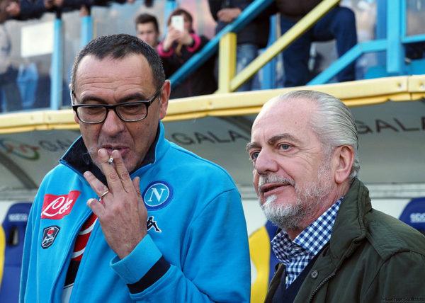 Napoli, a breve l'incontro tra De Laurentiis e Sarri per il rinnovo: i dettagli
