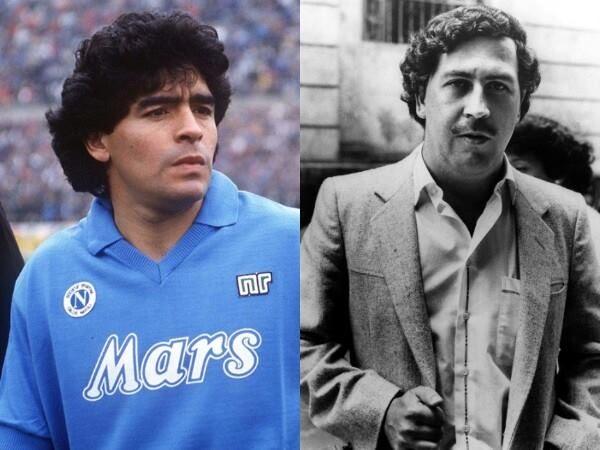 Calcio e coca: quando Maradona giocò per Pablo Escobar
