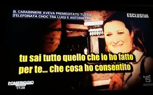 Luigi Capasso, la tragica telefonata con l'amica della moglie