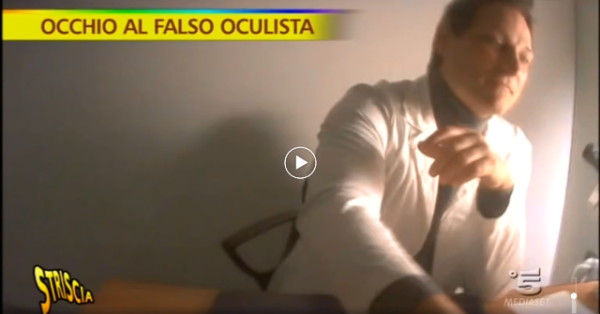 Falso oculista - San Giorgio a Cremano
