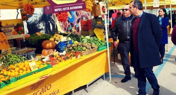 eda36d1e65 Il Comune di Napoli informa che domani 6 aprile 2018 i gazebo gialli di  Campagna Amica ritorneranno a colorare il noto mercato napoletano del  Caramanico a ...