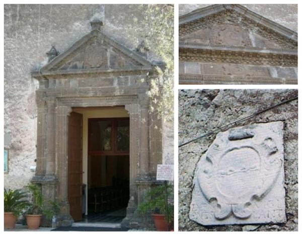 Caserta il santuario di leporano luogo di culto tra i for Piani di casa del fienile a una sola storia