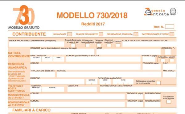 Awesome È Tempo Di Dichiarazione Dei Redditi Tramite Il Modello 730. Ci Sono  Diverse Novità Per Questo 2018 Sulle Detrazioni Fiscali.