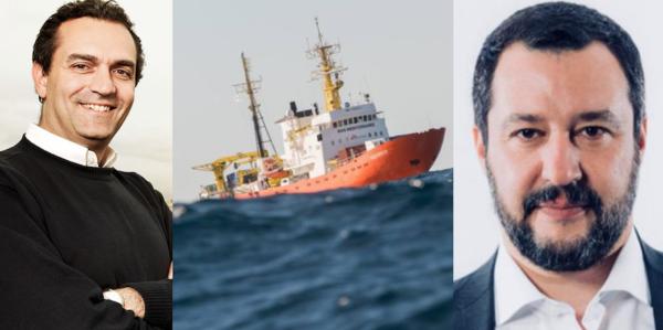 migranti, de magistris: «aquarius venga a napoli, noi pronti ad accoglierla»