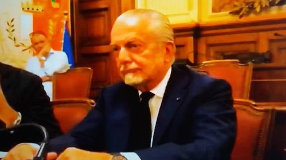 De Laurentiis conferenza stampa
