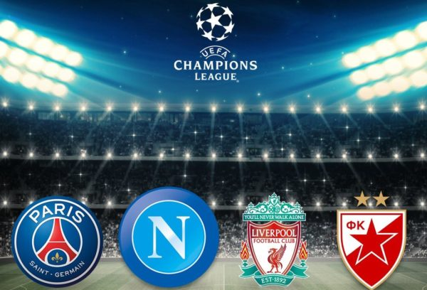 Partite Champions Calendario.Champions League Tutte Le Date Delle Partite Del Napoli