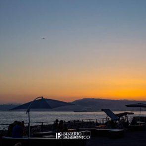 Binario Borbonico - tramonto