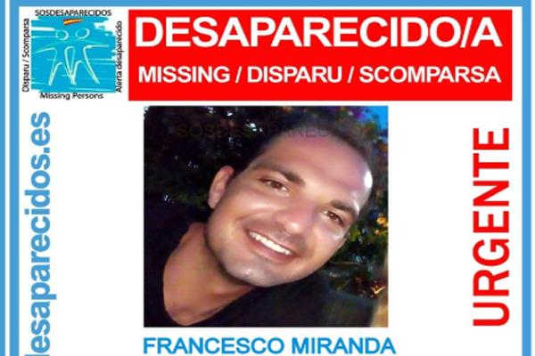 Barcellona: scomparso Francesco Miranda, italiano di 33 anni