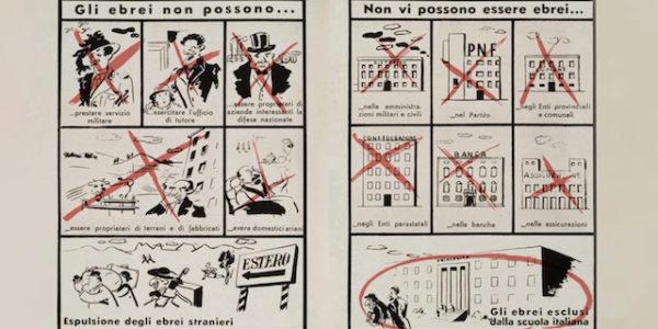 80 anni fa l 39 italia emanava le leggi razziali un orrore for Chi fa le leggi in italia