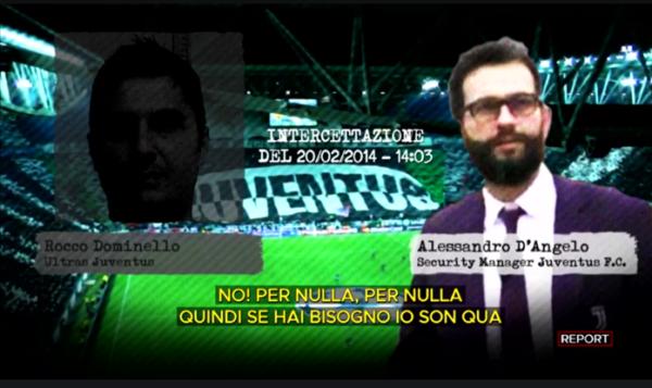 Società e malavita, Report indaga sul caso Juventus