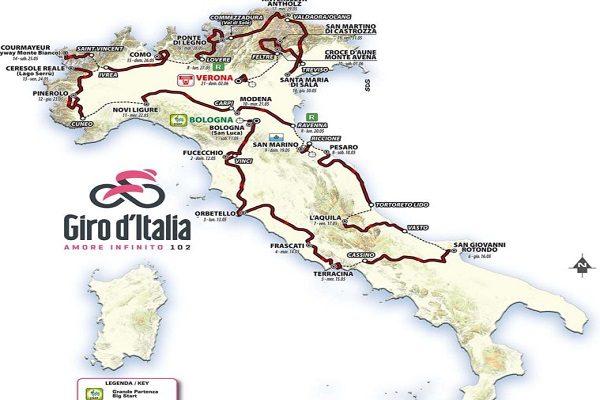 Calendario Giro D Italia.Giro D Italia 2019 Le Tappe Si Fermano A Cassino Escluso