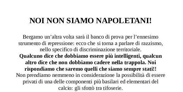 Curva Nord Bergamo