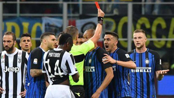 Inter Juve espulsione Vecino