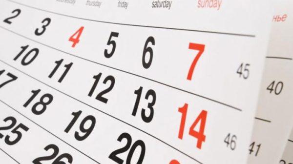 Calendario Feste.Tutti I Giorni Di Festa E I Ponti Nel 2019 Il Calendario